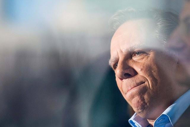 François Legault,chef de la Coalition avenir Québec (CAQ).... (Graham Hughes, archives PC)
