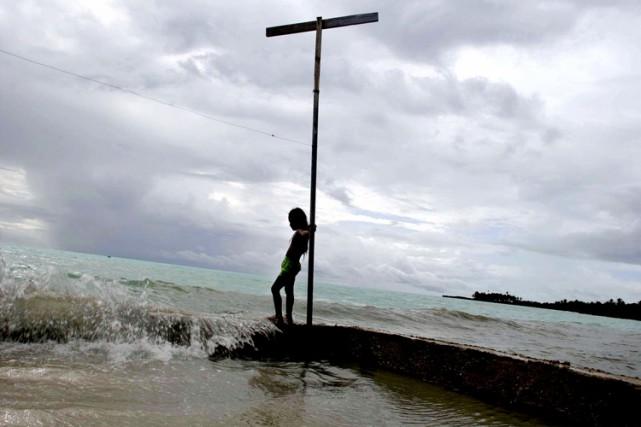 «La montée des eaux est un sujet grave... (ARCHIVES REUTERS)