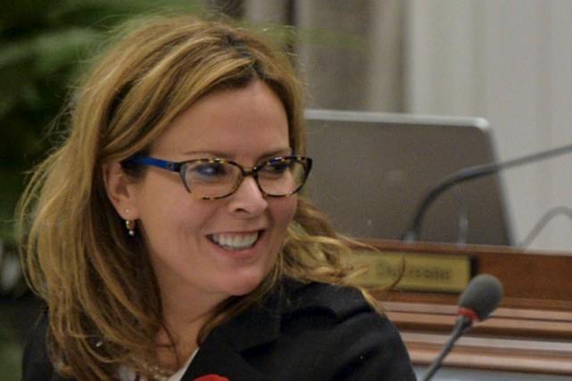 L'élue de Démocratie Québec et architecte de formation... (Le Soleil, Pascal Ratthé)