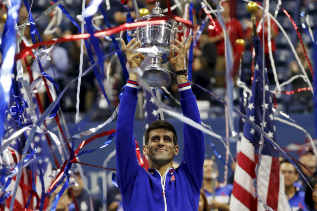À 28 ans, Novak Djokovic compte maintenant 10... (Photo Mike Segar, Reuters)