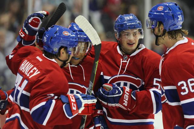 Le Canadien a renoué cette année avec le... (Photo Dave Chidley, PC)