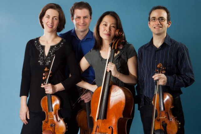 Le Quatuor à cordes Brentano... (PHOTO CHRISTIAN STEINER, FOURNIE PAR LE QUATUOR À CORDES BRENTANO)