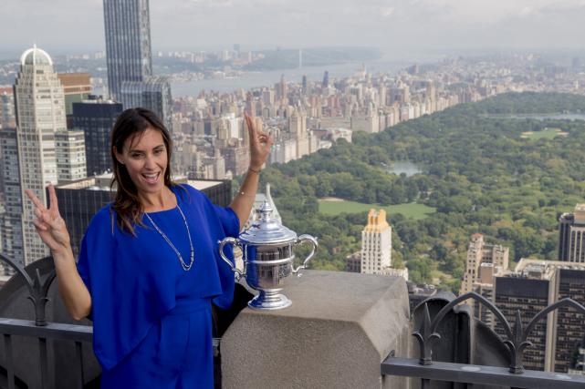 L'Italienne Flavia Pennetta a remporté à 33 ans... (Photo Brendan McDermid, Reuters)