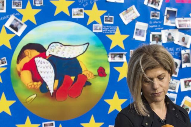 La tante d'Aylan s'est rendue à Bruxelles à... (PHOTO YVES HERMAN, REUTERS)