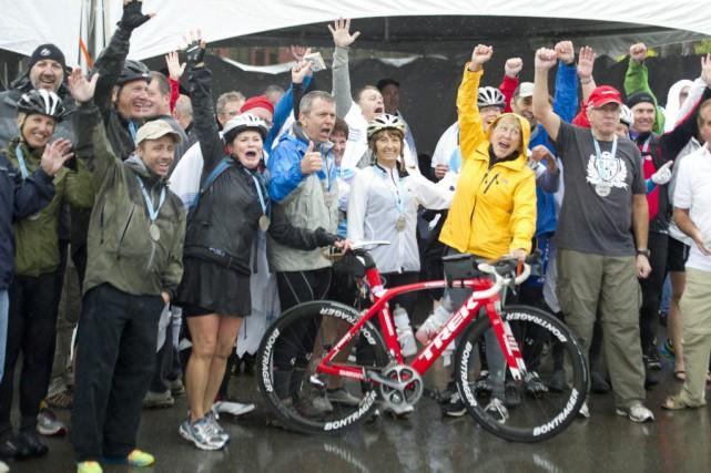 Le Cyclotour a permis d'amasser quelque 121000$ au...