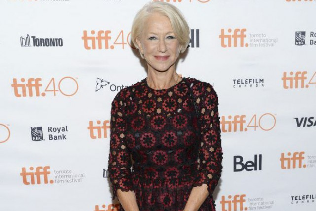 Helen Mirren... (PHOTO AP)