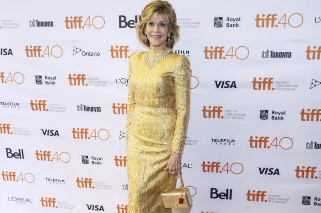 Jane Fonda à la première du film Youth...