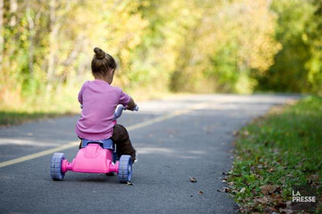Si le tricycle peut sembler plutôt inoffensif, cela ne l'empêche pas d'envoyer... (PHOTO ARCHIVES LA PRESSE)