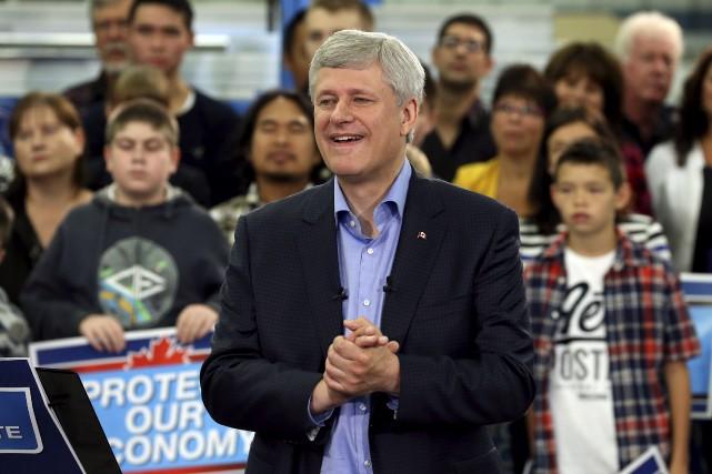 Le premier ministre Stephen Harper devrait dévoiler, cette... (PHOTOCHRIS WATTIE, REUTERS)