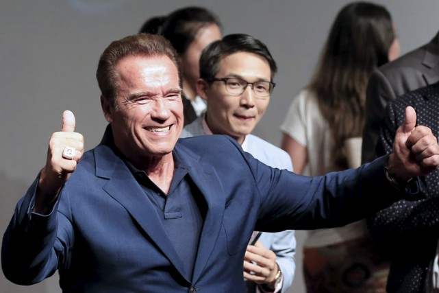 Arnold Schwarzenegger... (PHOTO REUTERS)