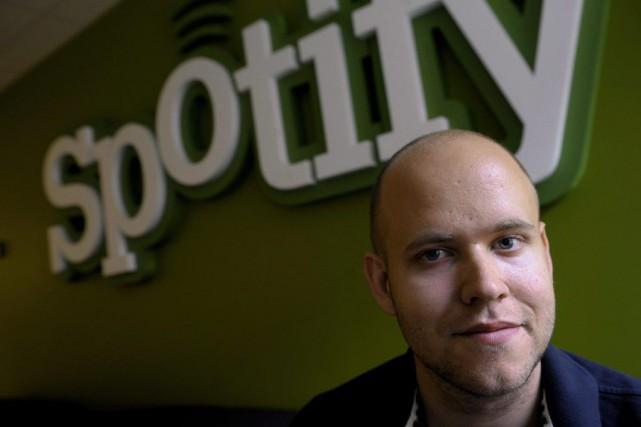 Le fondateur de Spotify, Daniel Ek, assure que... (Archives La Presse Canadienne, Janerik Henriksson)