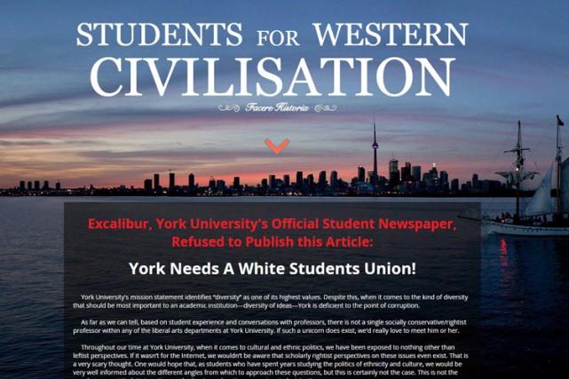 Trois universités dans la région de Toronto ont retiré de leurs murs des... (PHOTO PC)