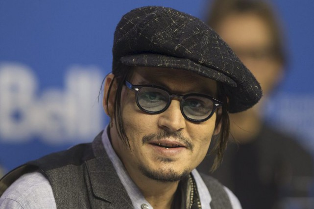 Johnny Depp... (PHOTO FRED THORNHILL, REUTERS)