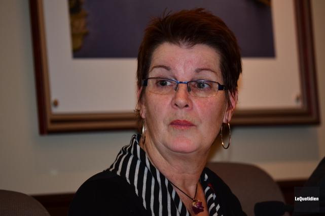 La mairesse, Dolores Boily.... (Archives Le Quotidien)