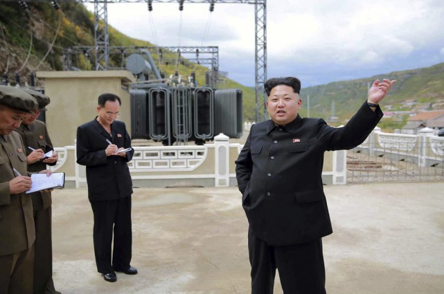 Kim Jong-Un... (PHOTO ARCHIVES AFP)