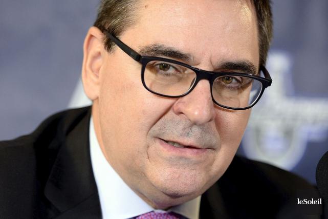 Le commissaire de la LHJMQ, Gilles Courteau, n'écarte... (Erick Labbé, Archives Le Soleil)