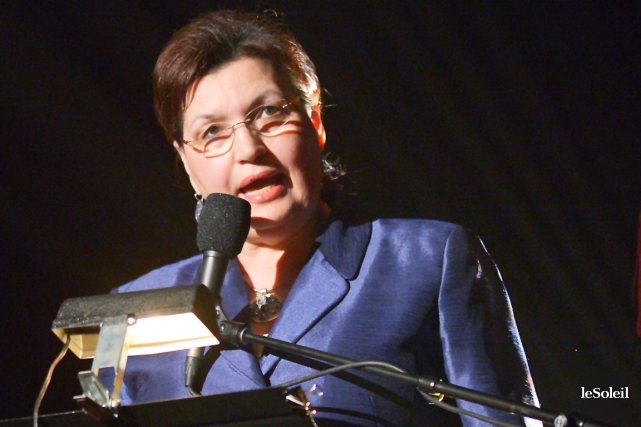 L'ex-députée libérale Fatima Houda-Pépin croit que le projet... (Photothèque Le Soleil, Yan Doublet)