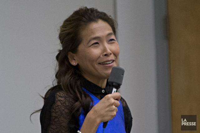 Lu Chan Khuong a participé lundi à uneconférence... (PHOTO PATRICK SANFAÇON, LA PRESSE)