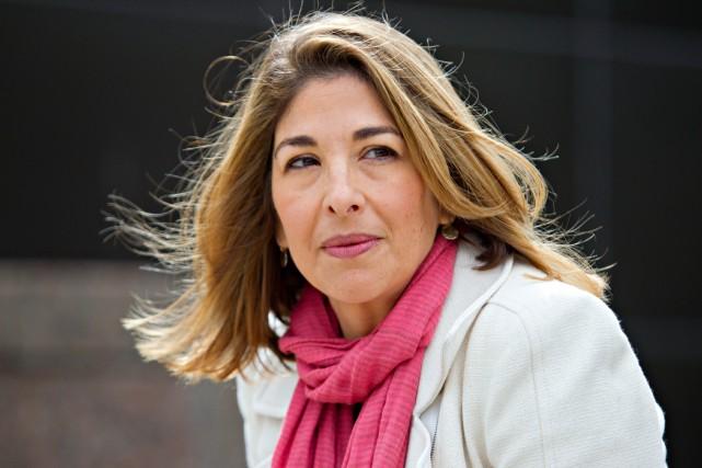 L'auteur Naomi Klein...