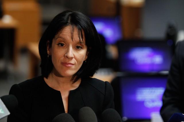 Me Sonia Lebel, procureure en chef de la... (Photo Martin Chamberland, La Presse)