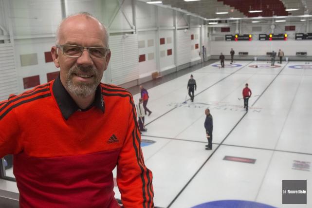 Le Club de curling de Grand-Mère, dont Jean-François... (Photo: Stéphane Lessard, Le Nouvelliste)