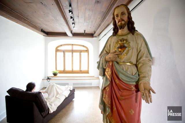 Le Québec a déjà compté des dizaines de communautés religieuses, abritées dans... (PHOTO DAVID BOILY, LA PRESSE)