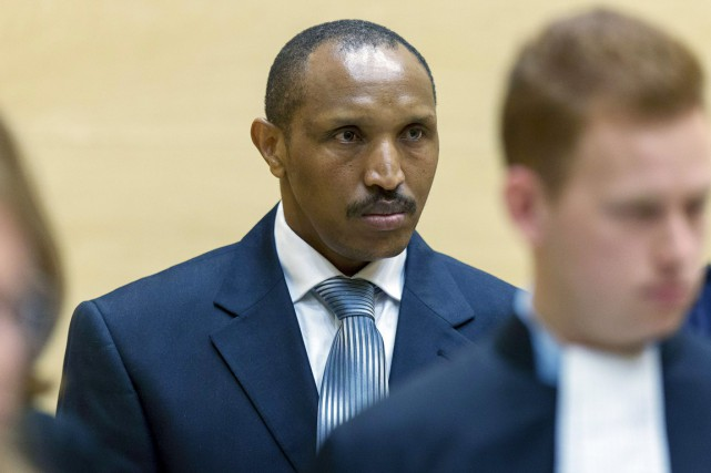 M. Ntaganda, 41 ans, est accusé de 13... (PHOTO MICHAEL KOOREN, ARCHIVES AFP)