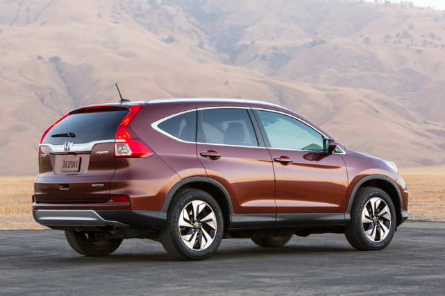 Le Honda CR-V... (Photo fournie par Honda)