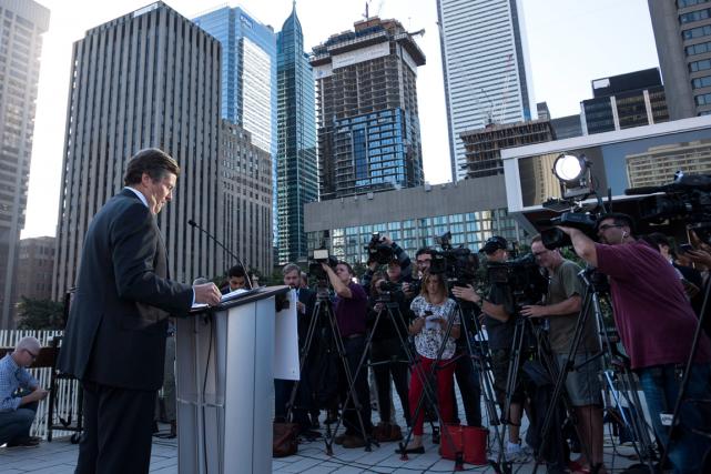 Toronto a tenté sans succès à deux reprises... (Photo Darren Calabrese, PC)