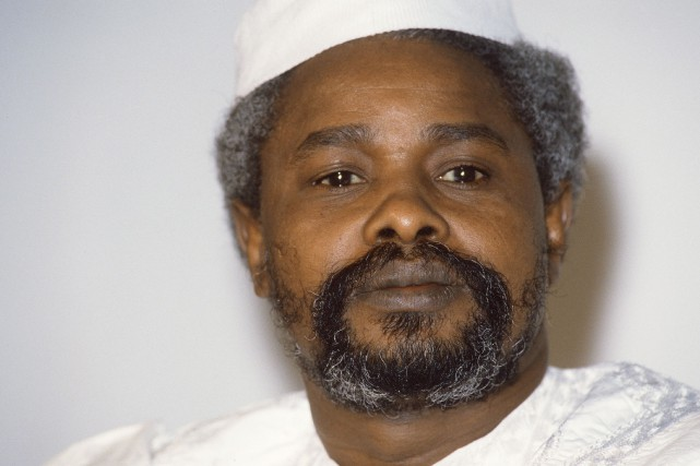 Hissène Habré en 1987... (PHOTO ARCHIVES AFP)