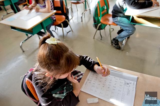 L'insatisfaction des enseignants drummondvillois en lien avec la lenteur des... (Archives La Presse)