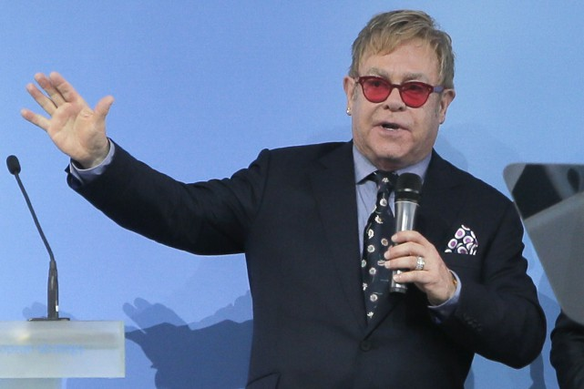 Elton John... (Photo AP)