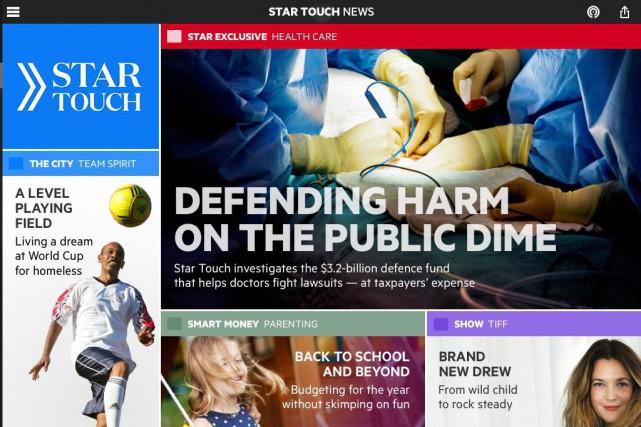 Le «Toronto Star» lance mardi sa nouvelle application pour tablette calquée sur... (Photo PC)