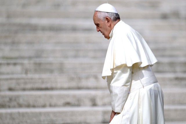 Les Américains attendent avec ferveur le pape François qui devrait pourtant les... (PHOTO AFP)