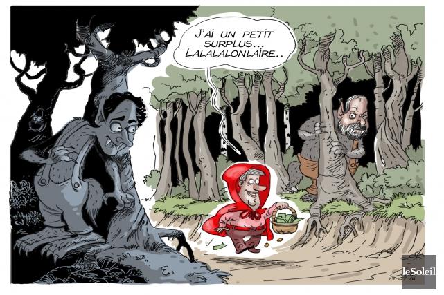 Caricature du 16 septembre... (Le Soleil, André-Philippe Côté)