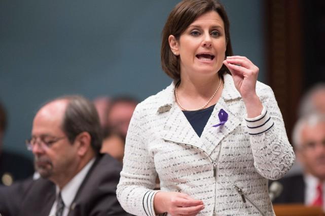 La ministre de la Justice Stéphanie Vallée... (PhotoJacques Boissinot, La Presse Canadienne)