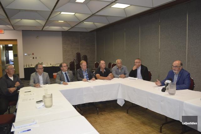 Les élus de la MRC Maria-Chapdelaine demandent des... ((Photo Le Quotidien Louis Potvin))