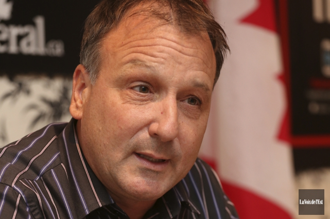 En campagne électorale pour représenter Shefford à Ottawa... (photo archives La Voix de l'Est)