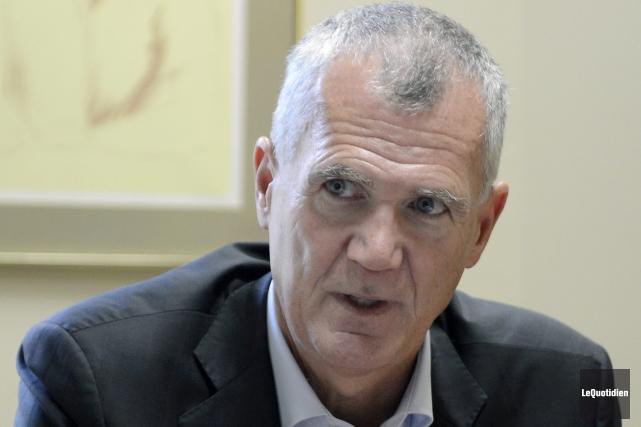 Le président-directeur général d'Investissement Québec, Pierre Gabriel Côté,... ((Photo Le Quotidien, Jeannot Lévesque))