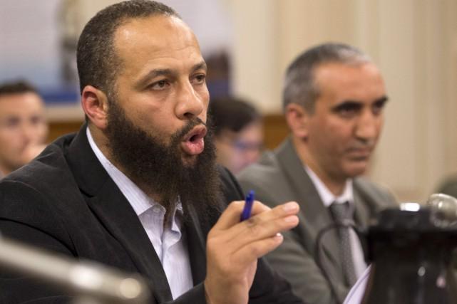 Adil Charkaoui, présent en commission parlementaire à titre... (La Presse Canadienne, Jacques Boissinot)