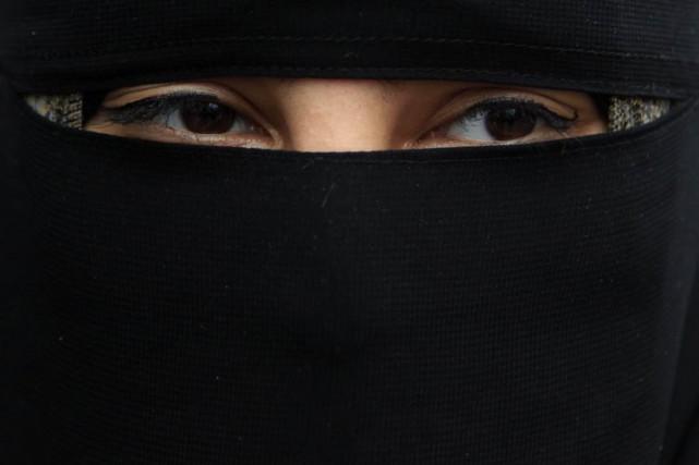 L'interdiction de se voiler le visage avait été... (ARCHIVES REUTERS)