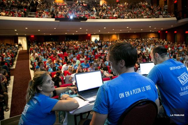 Plus de 1600 enseignants ont pris part à... (Imacom, René Marquis)