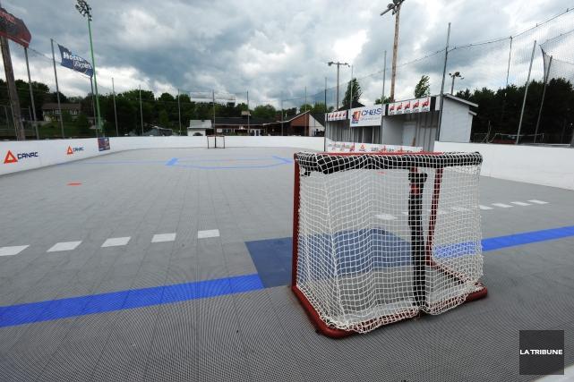 Parole d'Éric Côté, la refonte du Complexe hockey balle Sherbrooke (CHBS) n'a... (Archives La Tribune)