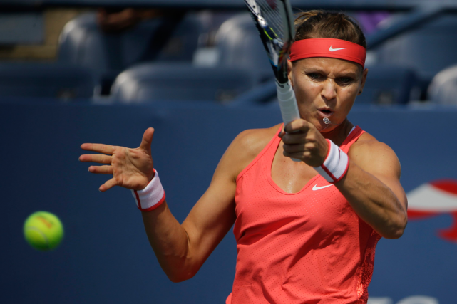 Lucie Safarova... (Photo Matt Rourke, archives AP)