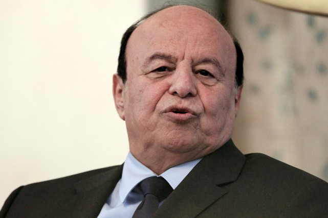 Abd Rabbo Mansour Hadi... (PHOTO MOHAMED NURELDIN ABDALLAH, ARCHIVES REUTERS)