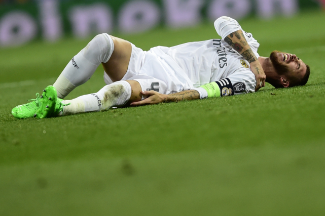 Sergio Ramos... (Photo Javier Soriano, AFP)