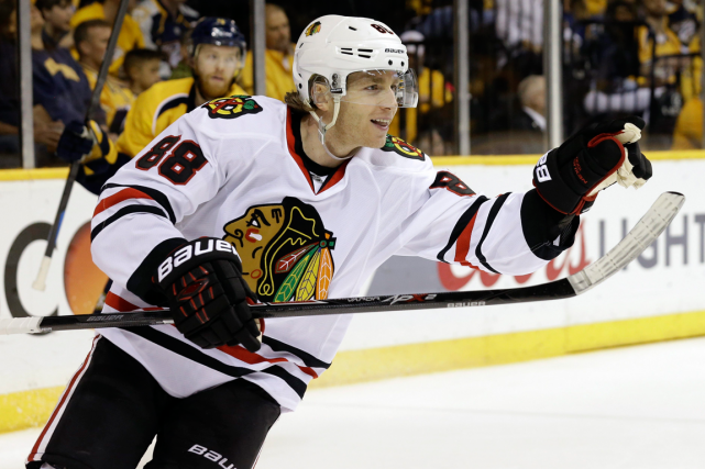 Patrick Kane... (Photo Mark Humphrey, archives AP)