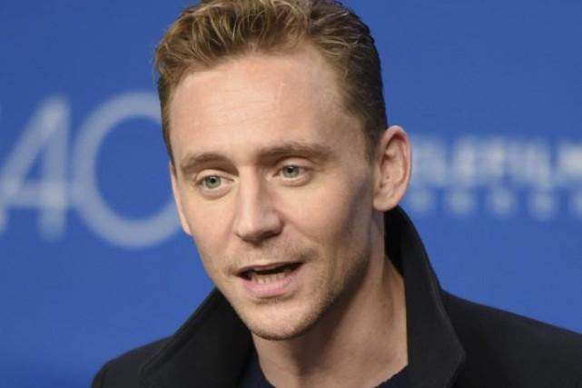 Tom Hiddleston en conférence de presse pour le...