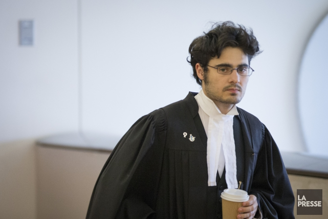 L'avocat du jeune accusé,Tiago Murias... (PHOTO IVANOH DEMERS, LA PRESSE)
