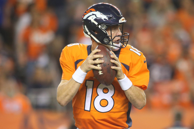 Peyton Manning a remporté 13 victoires en 14... (Photo Chris Humphreys, USA Today)